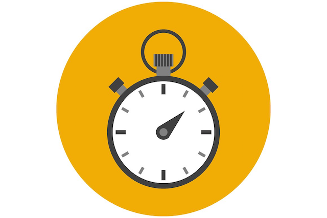 stopwatch flat icon 01